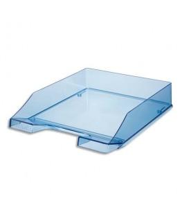 Corbeille à courrier 25.5 x 6.5 x 34.8 cm coloris bleu cristal - HAN