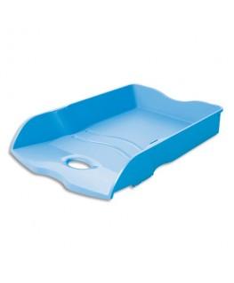 Corbeille à courrier Loop en polypropylène 25.9 x 6.3 x 35.1 cm coloris bleu - HAN