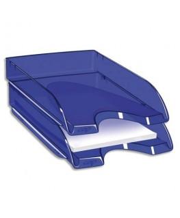 Corbeille à courrier Happy 26 x 6.4 x 34.5 cm coloris bleu - CepPro by CEP