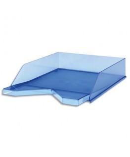 Corbeille à courrier Silky Touch 33.5 x 25.5 x 6.5 cm bleu transparent - Jalema