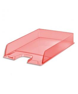 Corbeille à courrier COLOUR'ICE 25.4 x 6.1 x 35 cm coloris pêche - Esselte®