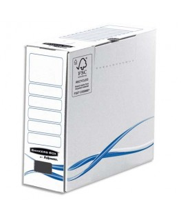 Boîtes archives gamme BASIC dos de 8 cm - Bankers Box® by Fellowes®