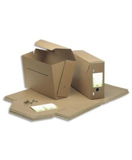 Boîtes à archives communales en carton kraft très résistant