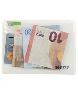 Sachet de 2 pochettes enveloppe à zip Traveller PVC 2/10e