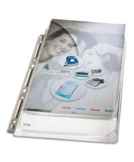 Sachet de 3 pochettes-plan à soufflet avec bande de perforation renforcée métal - Leitz®