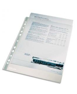 Sachet de 100 pochettes perforées A4 en polypropylène lisse 4/100e incolore - Esselte®