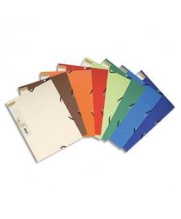 Chemise 3 rabats élastique Forever carte recyclée bicolore 380 g