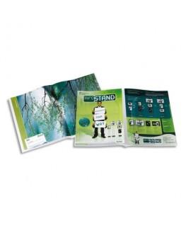 Sachet de 12 pochettes de présentation T-Collection polypropylène 20/100e