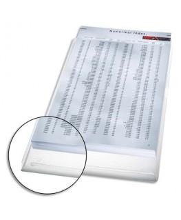 Sachet de 5 pochettes coins en PVC 17/100e avec soufflet de 2 cm incolore - Leitz®