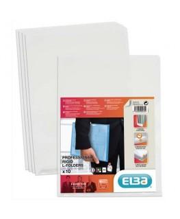 Sachet de 10 pochettes-coin Fard'Or en PVC 14/100e incolore - Elba®