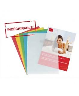 Paquet de 100 pochettes-coins Elco en calque 80g coloris assortis - Elba®