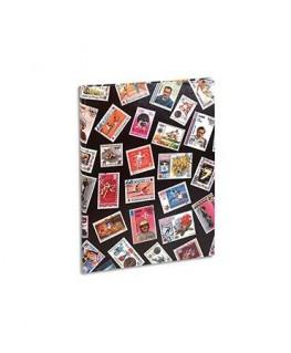 Album pour timbres (9 bandes / 16 pages) non rechargeable