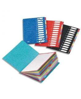 Trieur 7 compartiments coloris assortis