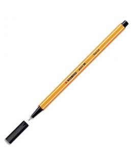 Stylo feutre Point 88 noir pointe fine 88/46 - Stabilo®