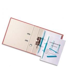 Boîte de 50 attaches à relier avec perforations Capiclass B avec poignée de transfert bleu - Acco®
