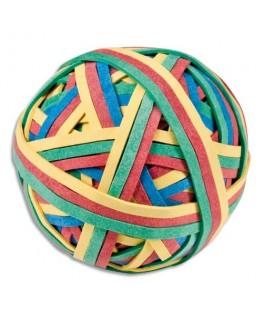 Balle 200 élastiques 4 couleurs assorties - JPC