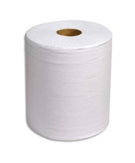 Lot de 2 bobines d'essuyage 800 formats blanc 2 plis