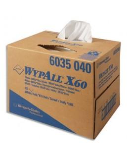 Boîte distributrice de 60 essuie-mains Wypall