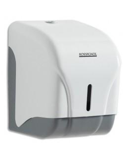 Distributeur Oléane 1 rouleau ou 2 paquets papier toilette blanc - Rossignol
