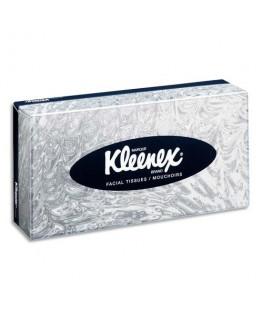 Boîte de 100 mouchoirs blancs 2 plis avec indicateur de fin de boîte - Kleenex® by Kimberly-clark