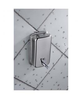 Distributeur de savon en inox brossé capacité 1L