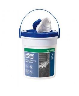 Boîte de 58 lingettes imprégnées d'une solution antiseptique et désinfectante - Tork®