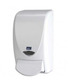 Distributeur de savon blanc capacité 1 litre en ABS
