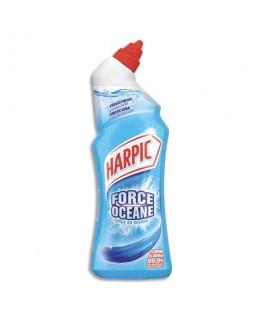 Flacon de 750 ml gel auto-actif Force Océane - Harpic®