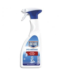Spray détergent détartrant 750 ml pour les sanitaires parfum frais - Antikal