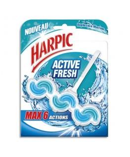 Bloc WC Activ Fresh 6 actions pour cuvettes parfum marine - Harpic®
