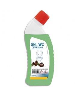 Flacon gel WC 750 ml gel vert détartrant