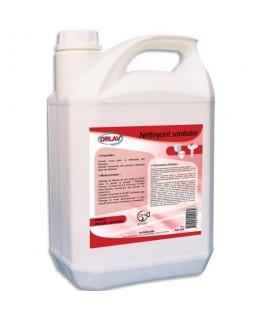 Bidon de 5 litres nettoie détartre désinfecte désodorise pour sanitaires