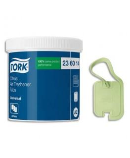 Boîte de 20 pastilles désodorisantes vertes parfum citron - Tork®