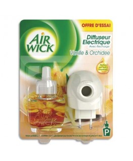 Diffuseur désodorisant électrique parfum vanille orchidée - Air Wick