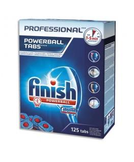 Boîte de 125 pastilles de lavage pour lave-vaisselle - Finish