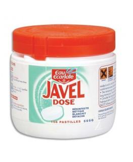 Boîte de 156 pastilles de Javel classique Professionnel - Eau Ecarlate