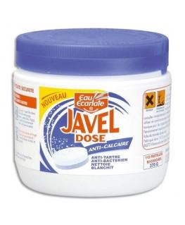 Boîte de 112 pastilles de javel anti-calcaire Professionnel - Eau Ecarlate