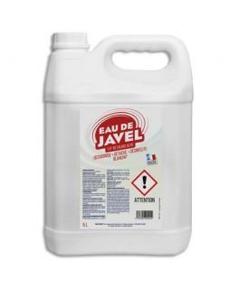 Bidon de 5 litres d'eau de javel désinfecte