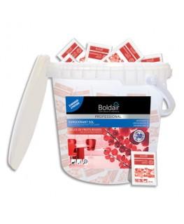 Boîte de 100 doses 20 ml 3D sur-odorant sols détergent désodorisant désinfectant Délices fruits rouges - Boldair