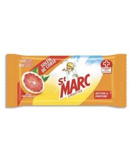 Pochette de 80 lingettes anti-bactériennes parfum Soleil de Corse - St-Marc