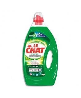 Bidon de 5 litres de 68 Doses de lessive Liquide gel concentré tous textiles -  Le Chat