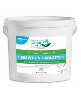 Pack de 160 tablettes linge sous film hydrosoluble - Action Verte