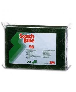 Tampon récurant vert récurant puissant et résistant 15.8 x 0.8 x 9.5 cm - Scotch-Brite