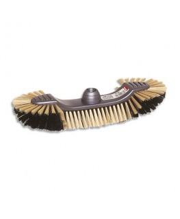 Balai demi tête d'intérieur crin monture en plastique Eco largeur 30 cm - Brosserie Thomas
