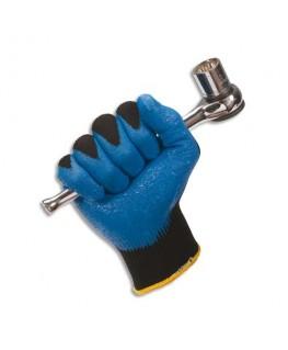 12 paire de gants de manutention Jackson Safety Taille 8 coloris bleu - Kimberly-Clark