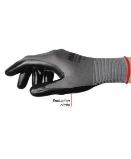 Colis de 10 paires de gants Ultrane 553 polyamide sans couture enduction nitrile sur paume taille 7 - Mapa® Professionnel