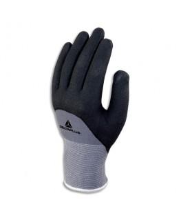Paire de gants VE gris noir en polyamide spandex