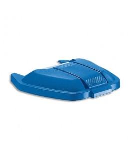 Couvercle bleu pour conteneur à roues 100 litres - Rubbermaid®