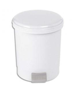 Poubelle à pédale pour sanitaire économique capacité 3 litres
