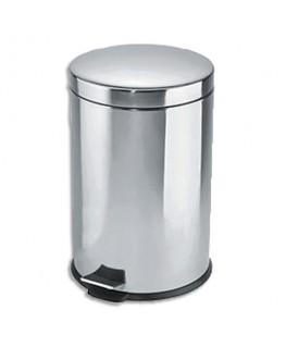 Poubelle à pédale en inox capacité 3 litres